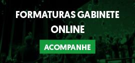 Banner de apoio - Formaturas Gabinete Online - Acampanhe!