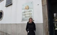 Vanessa Schardong, egressa do curso de Turismo da Universidade Feevale.