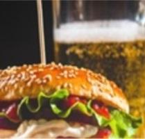 Imagem referência Burger e Cerveja